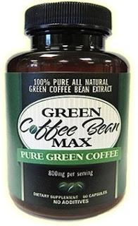 Pure Green Coffee Bean Extract 800 Mg'