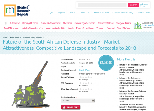 Future of the South African Defense Industry 2018'