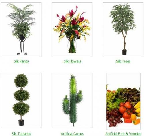 Quality Silk Plants'