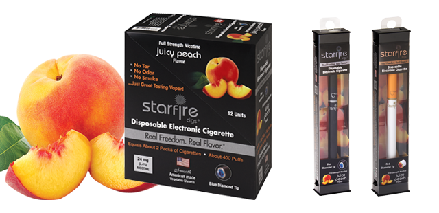 Disposable Electronic Cigarettes from Starfire Cigs