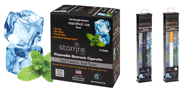 Disposable Electronic Cigarettes - Menthol Ice