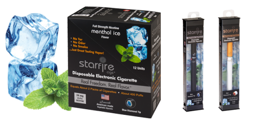 Disposable Electronic Cigarettes - Menthol Ice'