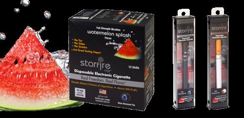Disposable E Cigs from Starfire Cigs, Watermelon Splash'