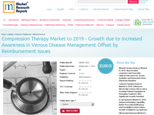 Compression Therapy Market to 2019'