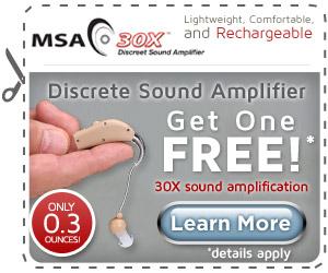 msa 30x sound amplifier'