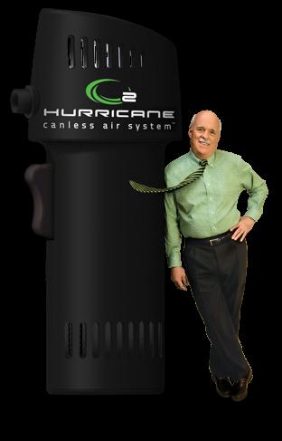 o2 hurricane air system'