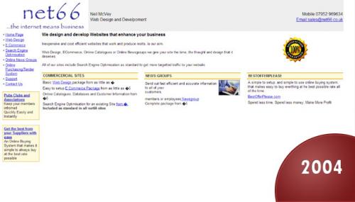 Net66 Website 2004'