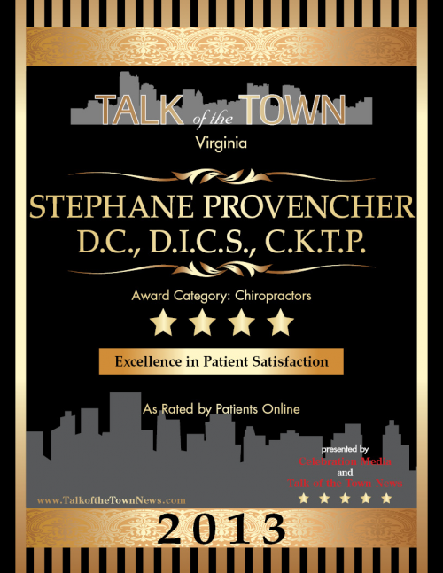 Dr. Stephane Provencher Award'