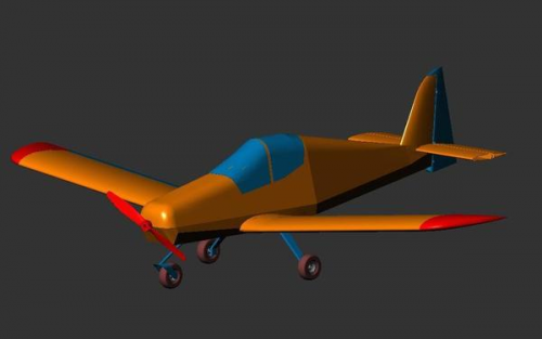 Ultra-light Airplane Project'