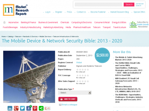 The Mobile Device and Network Security Bible: 2013 - 2020'