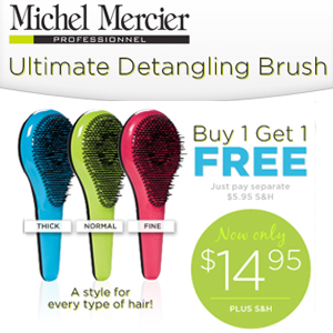 Official Michel Mercier Notangle Brush'