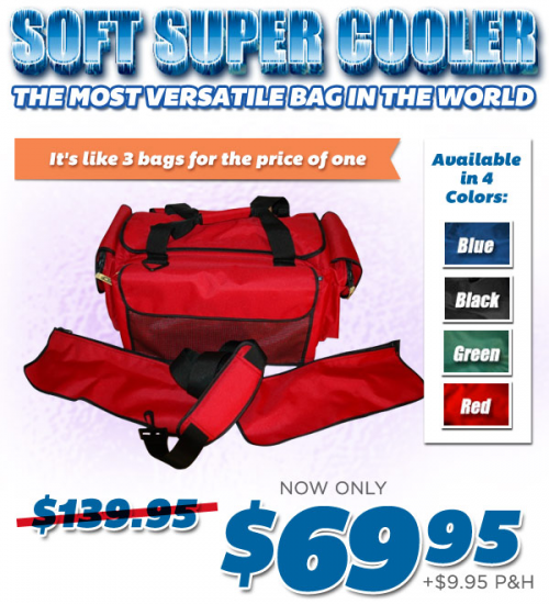Soft Super Cooler As Seen on TV Canada'