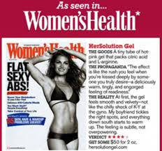 Hersolution Featured in Womens Health'