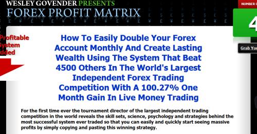Matrix Trade Sentinel EA'