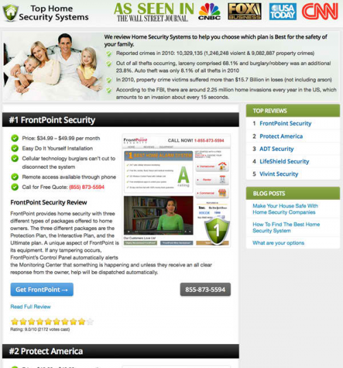 Top Home Security Systems'