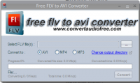 FLV to AVI