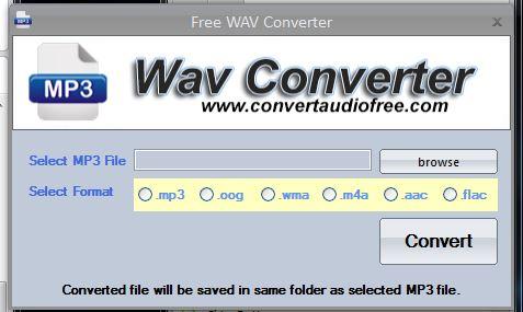 Convert Audio Free'