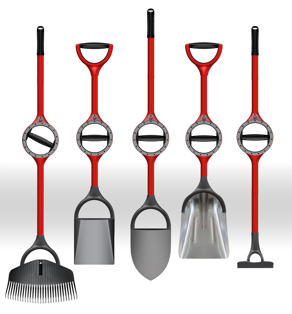 Bosse Tools manufactures ergonomically redesigned shovels