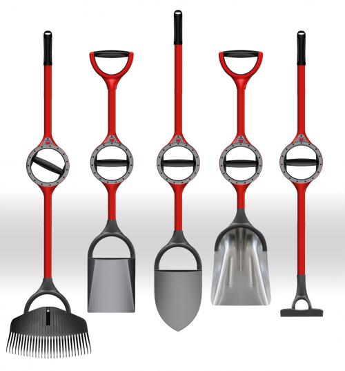 Bosse Tools manufactures ergonomically redesigned shovels'