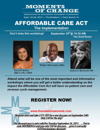 special seminar on the Affordable Care Act at the &