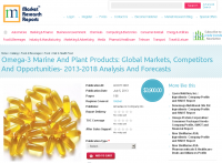 Omega-3 Marine And Plant Products - Global Markets 2013-2018