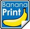 Banana Print Logo'