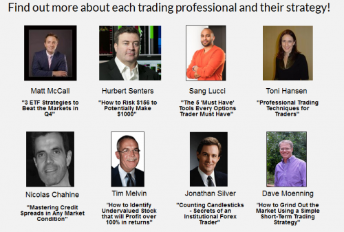 FREE International Traders And Investors Summit by Marketfy!'