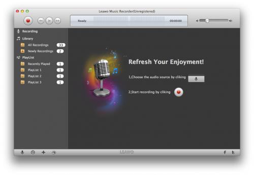 Leawo Music Recorder for Mac'