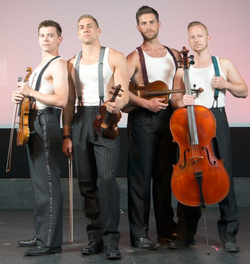 Well-Strung, the Singing String Quartet, in London'
