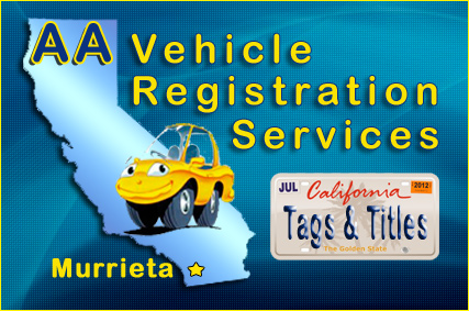 AA Vehicle Registration Services'