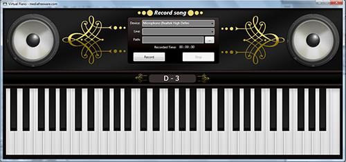 Virtual Piano'