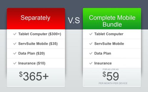 ServSuite Mobile Bundle'
