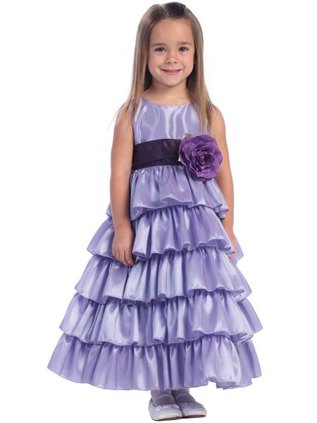 Lavender Flower Girl Dress'