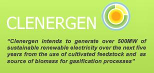 Logo for Clenergen Corporation'