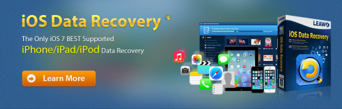 Only iOS 7 best supported iPad and iPhone data recovery'