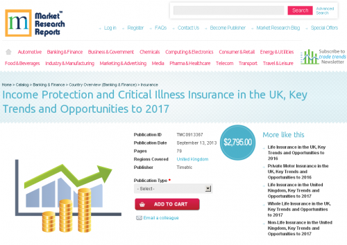 Income Protection and Critical Illness Insurance in the UK'