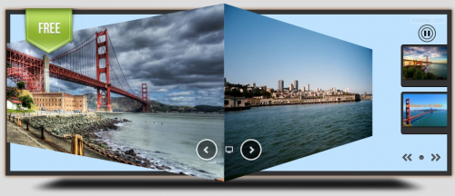 free jQuery HTML5 Slider Created in Hi Slider'
