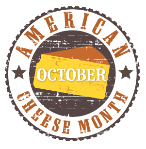 American Cheese Month Logo'