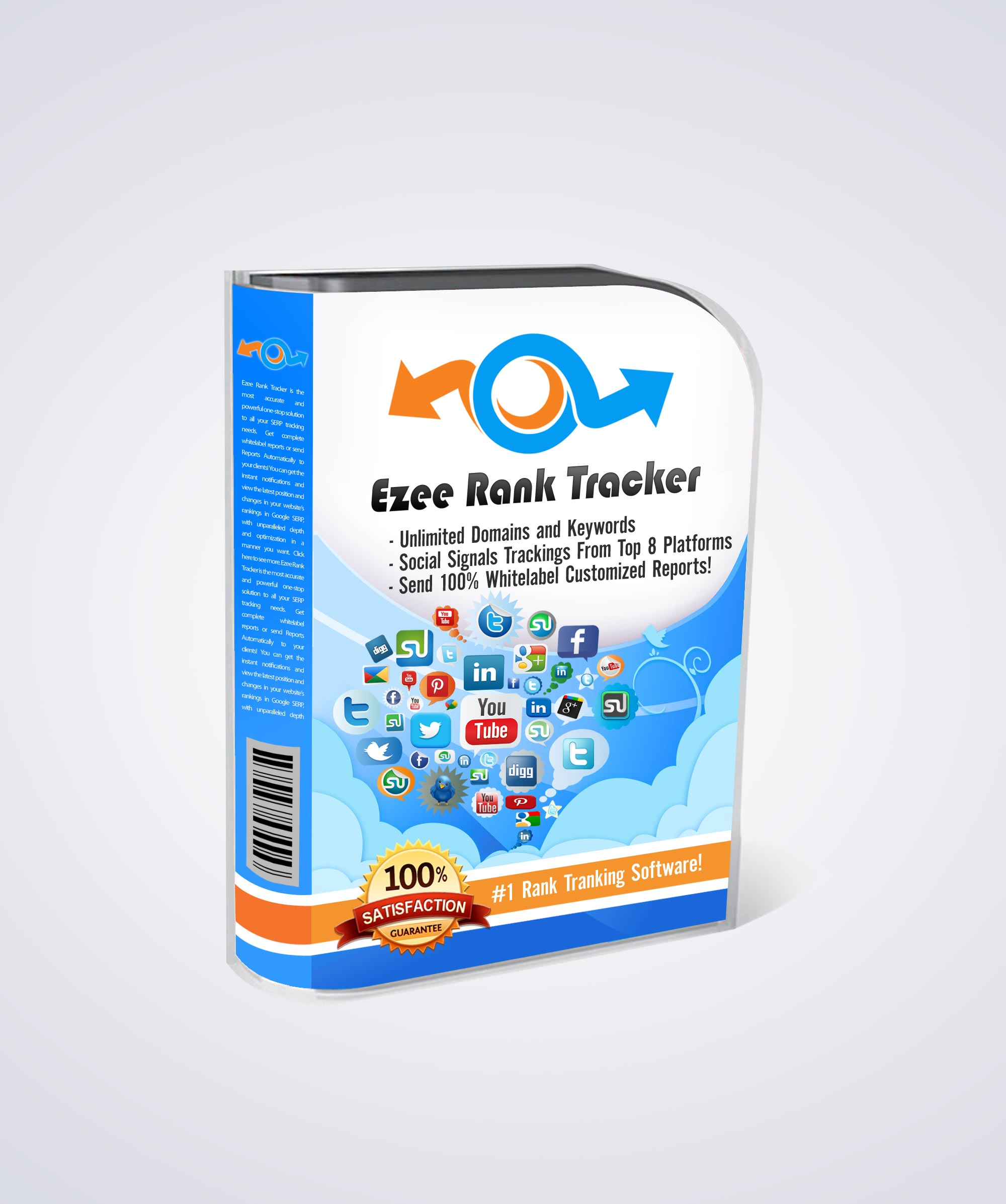 Ezee Rank Tracker Pro Product Box
