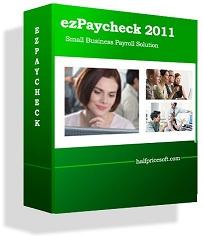 ezPaycheck small business payroll software'
