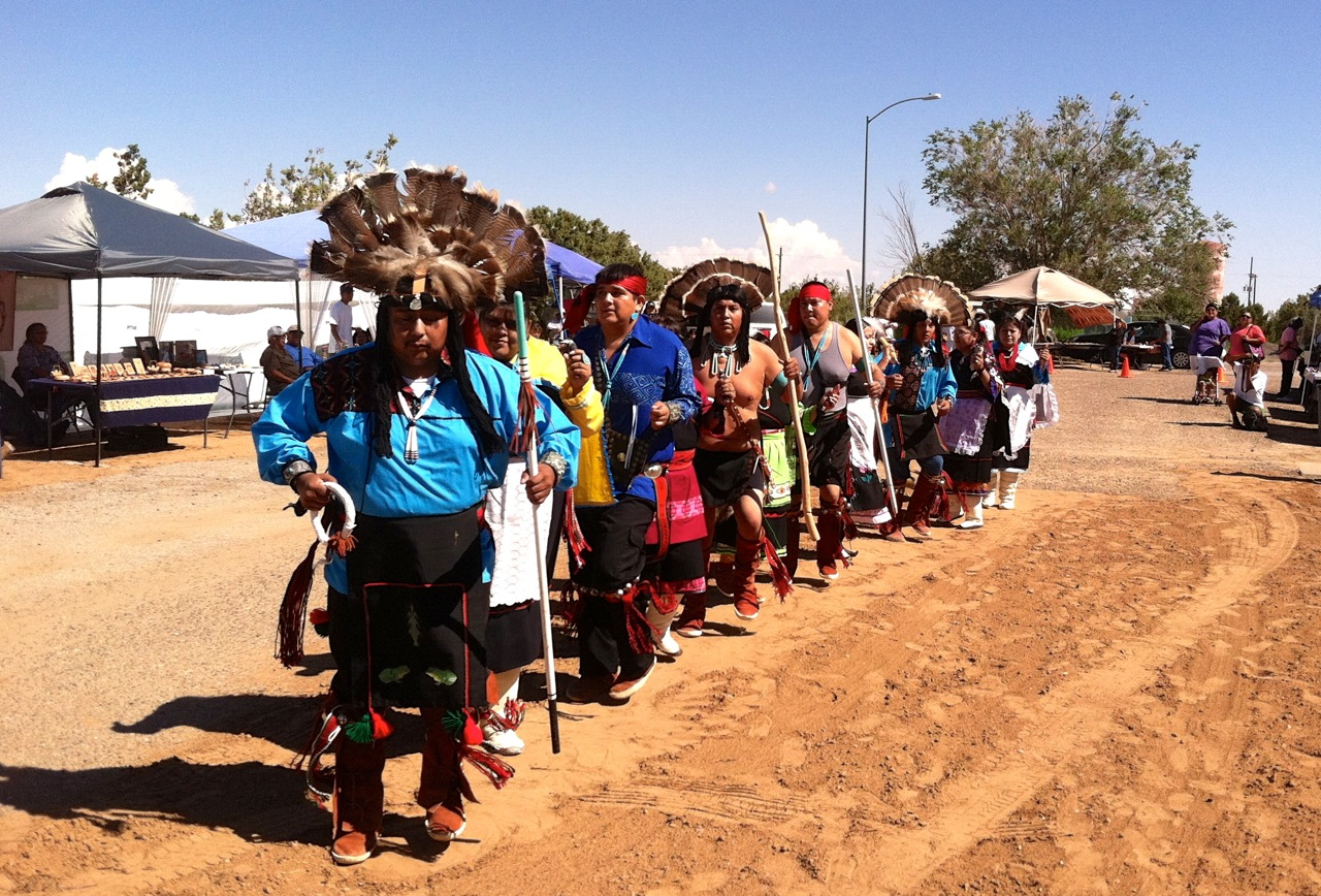 Hopi Cultural Center Dancers during Explore Hopi Event