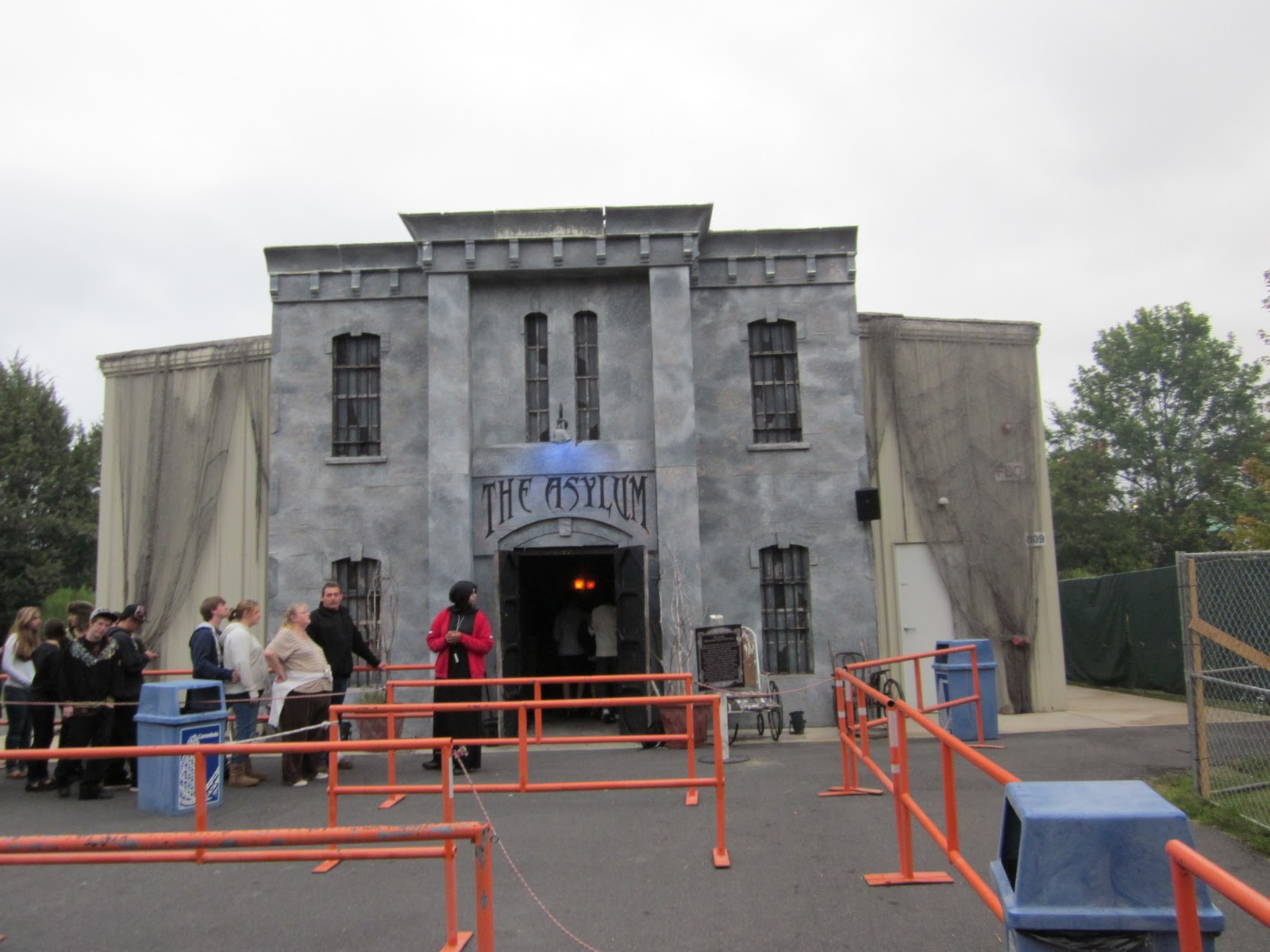 Freedom Steel Haunted House
