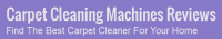 Carpet Cleaning Machines Reviews Logo