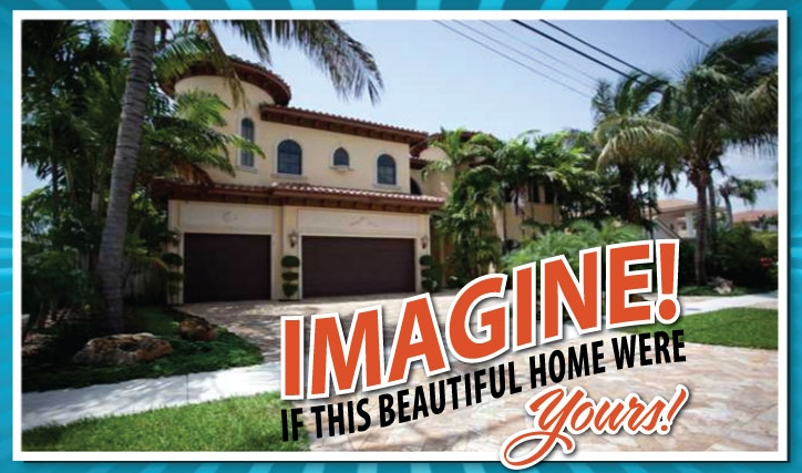 $2.1 Million Dollar Florida Dream Home Raffle