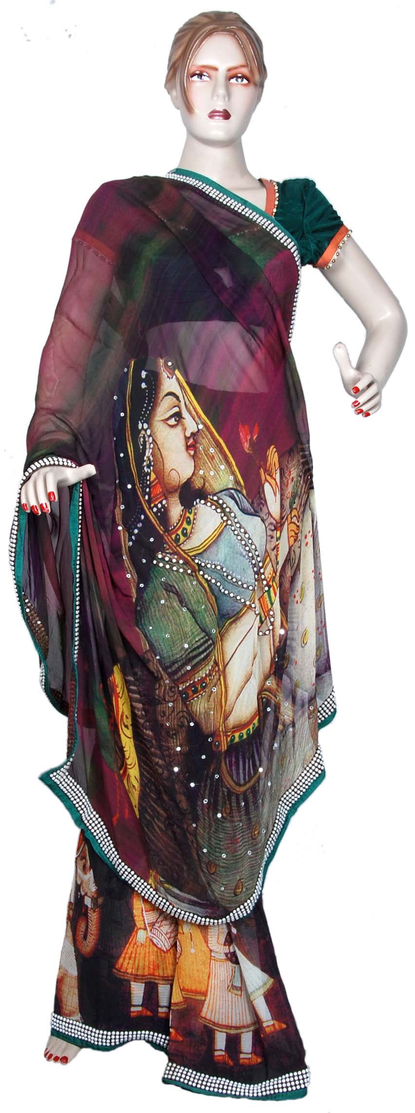 Indian clothing Kurti Tunic and Designer saree