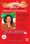 """""""Christmas in Italy®"""" poster design 2013'"""
