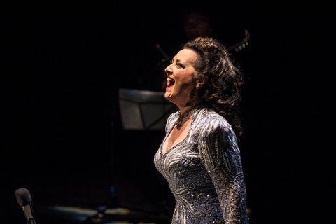 Award-winning Cristina Fontanelli on stage at Symphony Space
