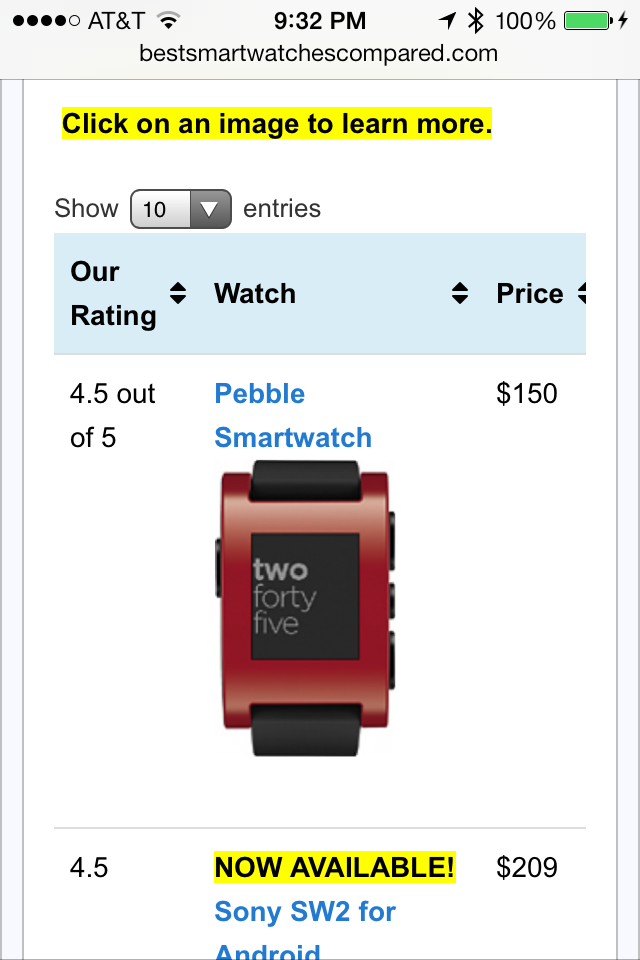 BestSmartWatchesCompared.com