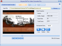 Moyea SWF to Video Converter Pro Sreenshot