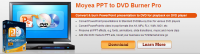 Moyea PPT to DVD Burner Pro Banner